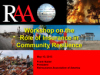 Role of Insurance in Community Resilience (RAA)