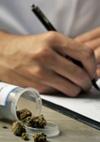 writing cannabis prescription