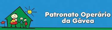 logo graphic of patronato operario da gavea